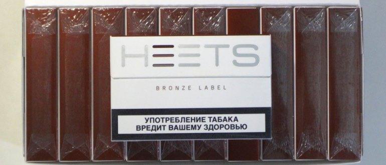 Новые бронзовые стики для IQOS от Heets