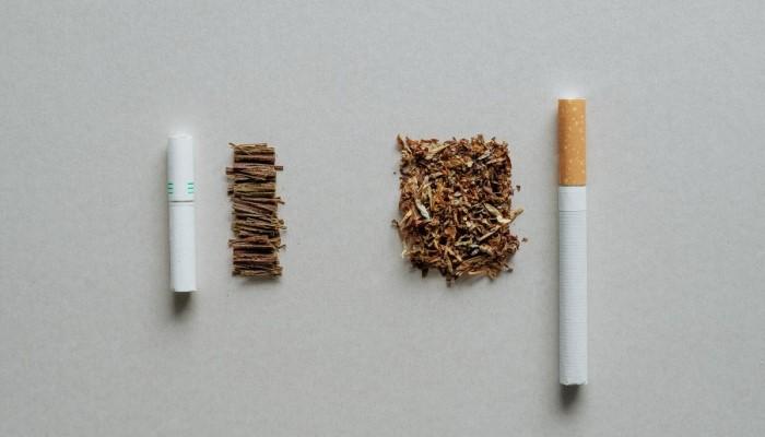 Сравнение с сигаретой