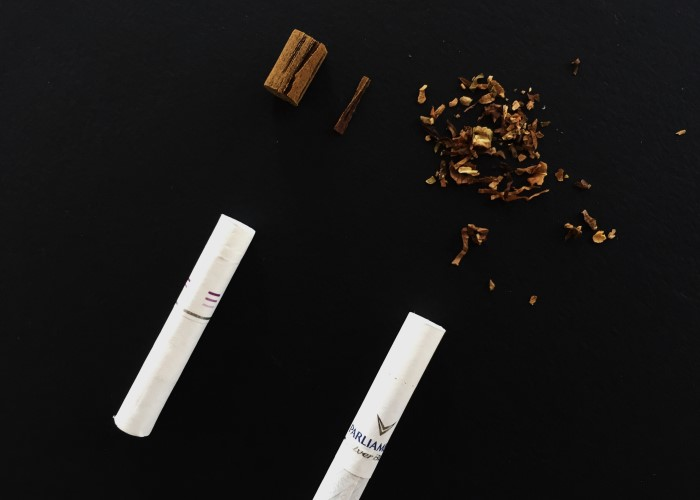 Табак внутри