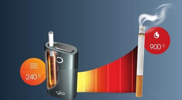 Нагревание табака