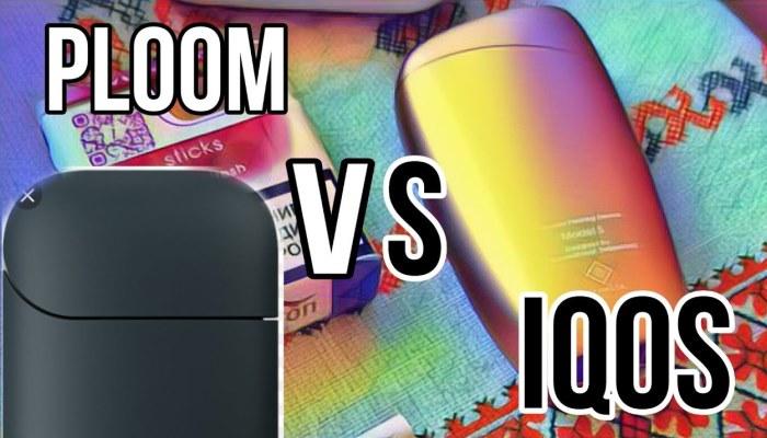 Стики Ploom vs IQOS
