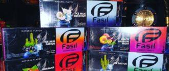 Обзор кальянного табака Fasil