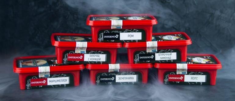 Табак для кальяна Inferno