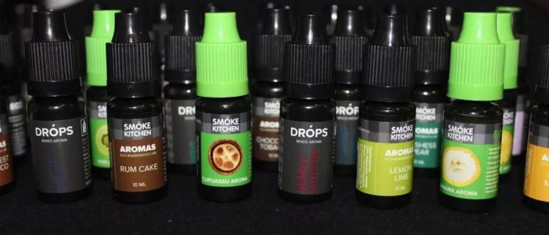 Разновидности ароматизаторов для электронных сигарет